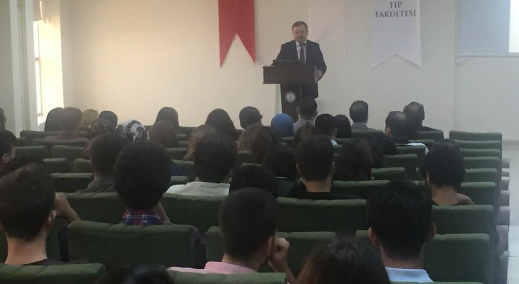 Tıp Fakültemizde 2017-2018 Eğitim-Öğretim Yılı İlk Dersi Verildi