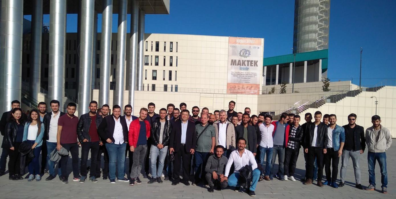 Maktek 2017 İzmir Teknik Gezisi