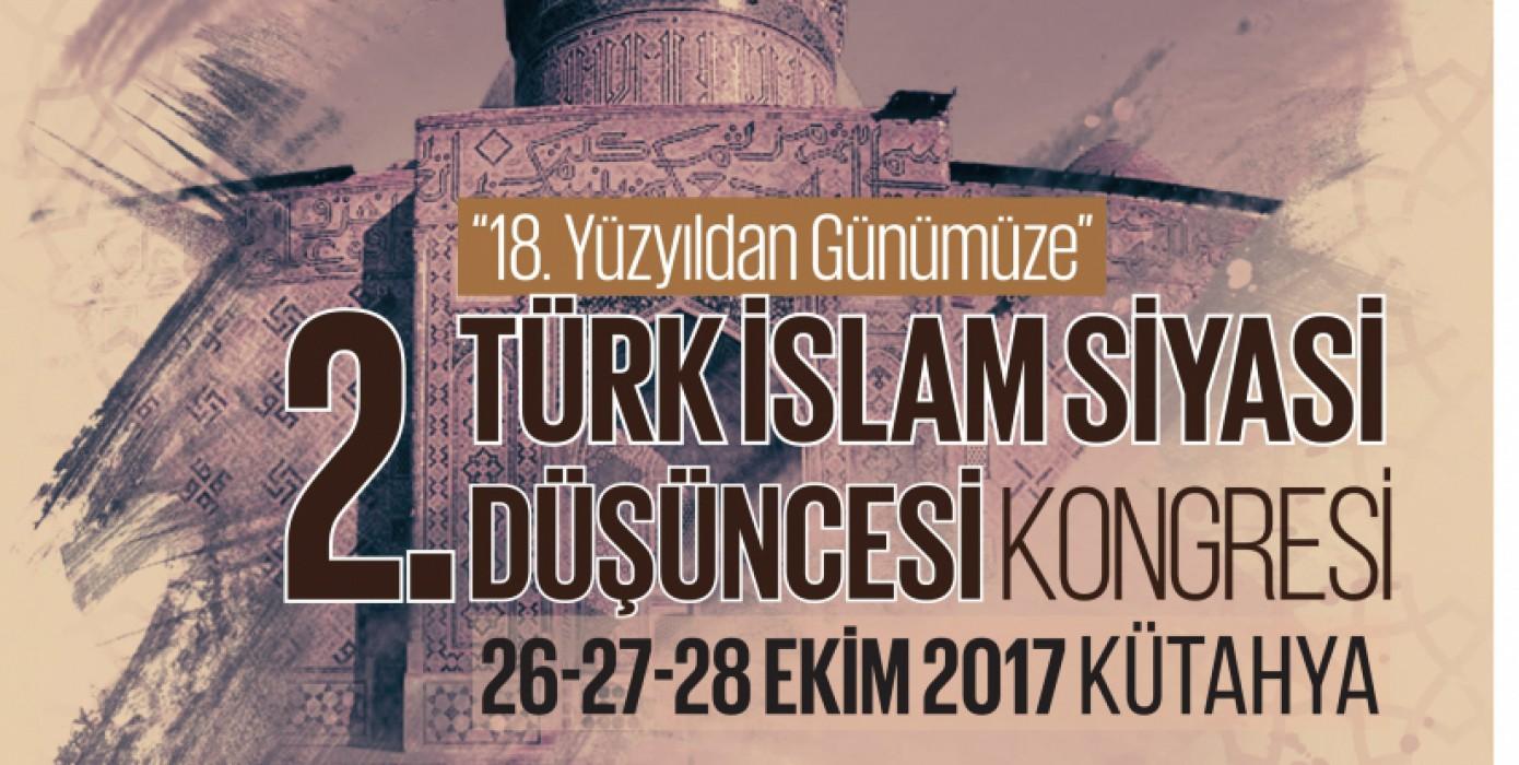 II. Türk İslam Siyasi Düşüncesi Kongresi