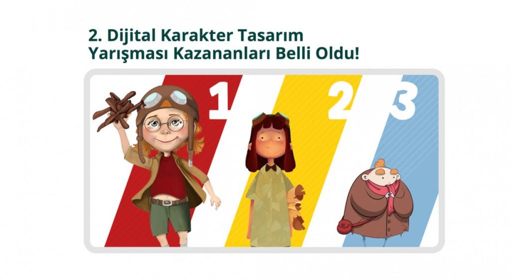 TRT Çocuk Kanalının Düzenlediği Dijital Karakter Yarışması'nda Öğrencimiz Zalike Yaman 1. Oldu