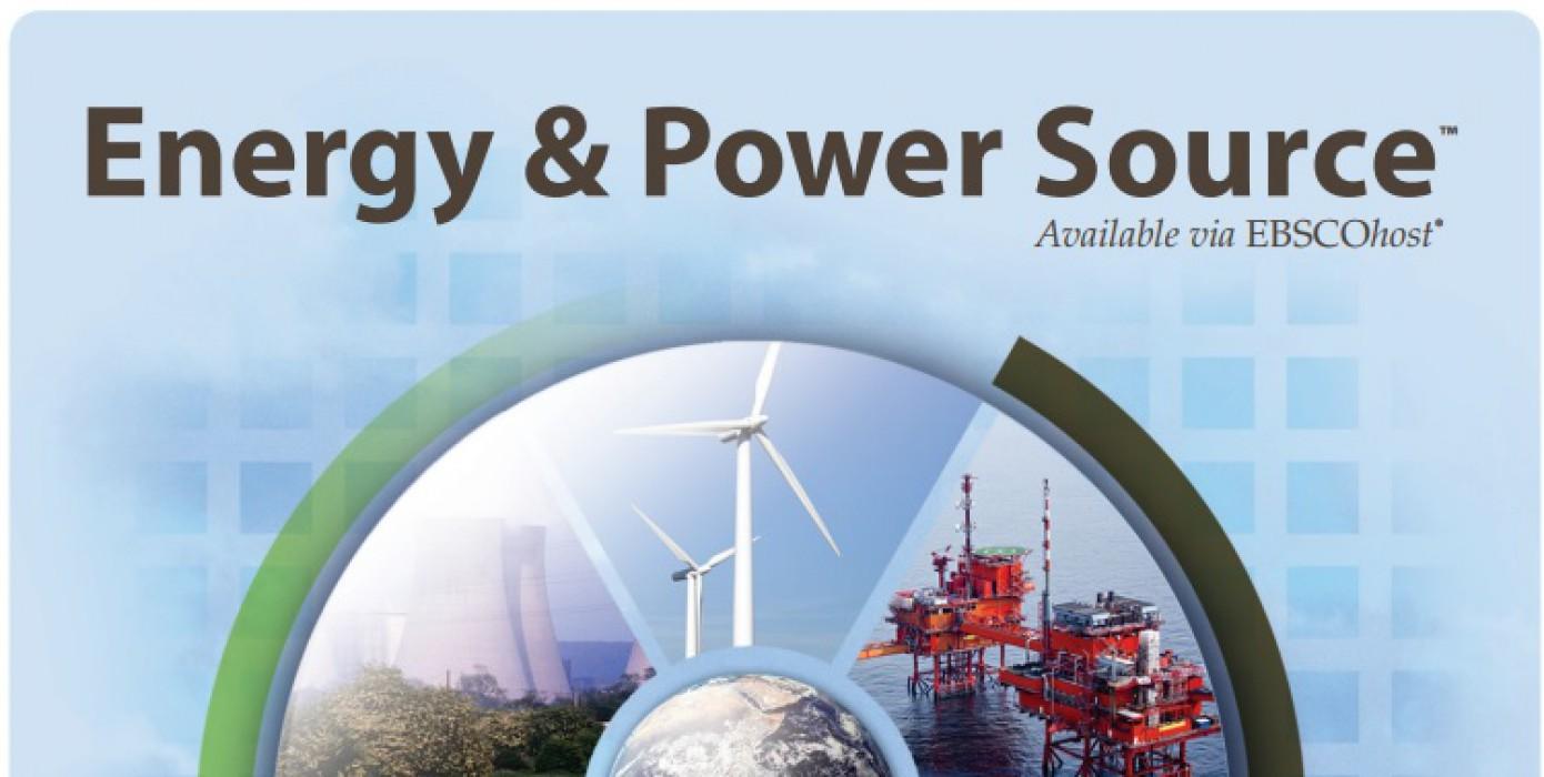 Energy&amp Power Source Veri Tabanı