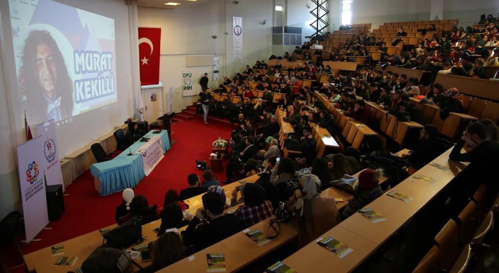 Murat Kekilli Üniversitemizde