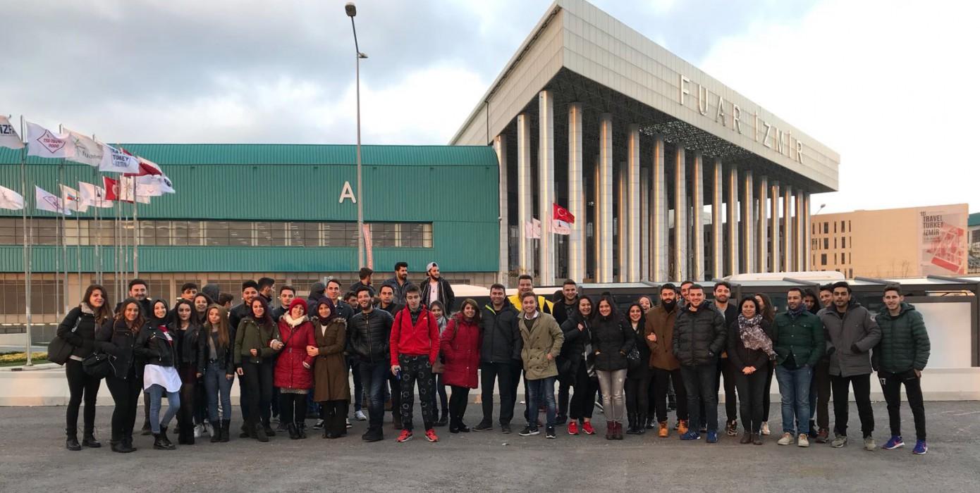 Öğrencilerimiz 11. Travel Turkey İzmir Fuarı'na Katıldılar