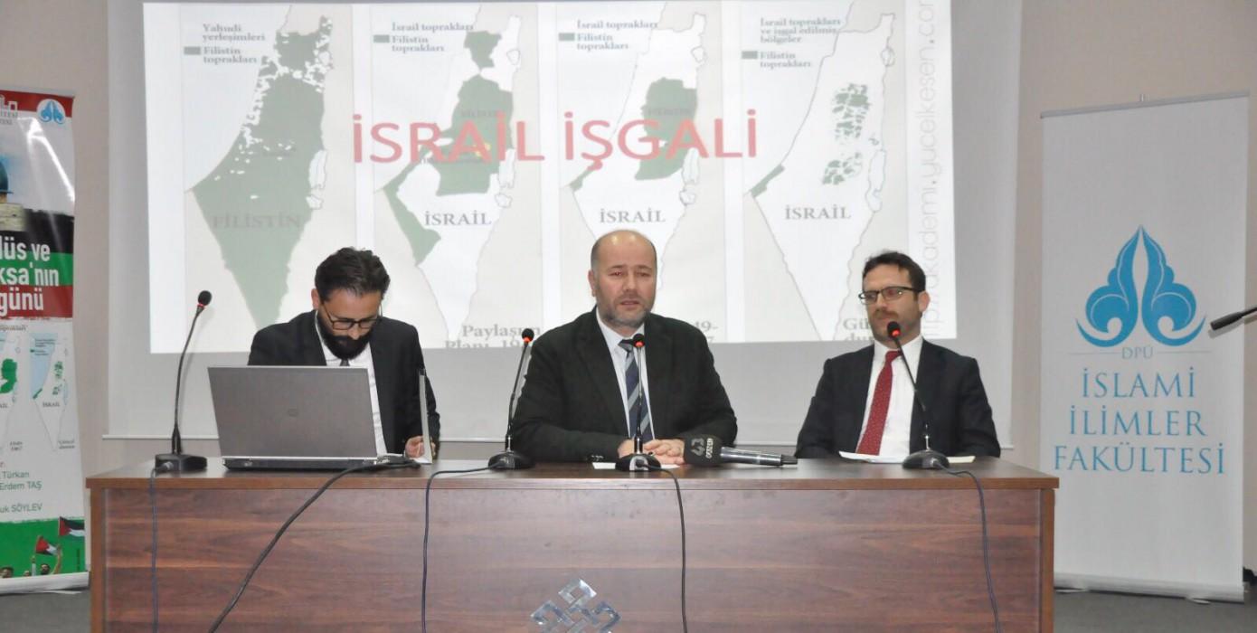 Filistin, Kudüs ve Mescid-i Aksa'nın Dünü ve Bugünü Paneli Gerçekleştirildi