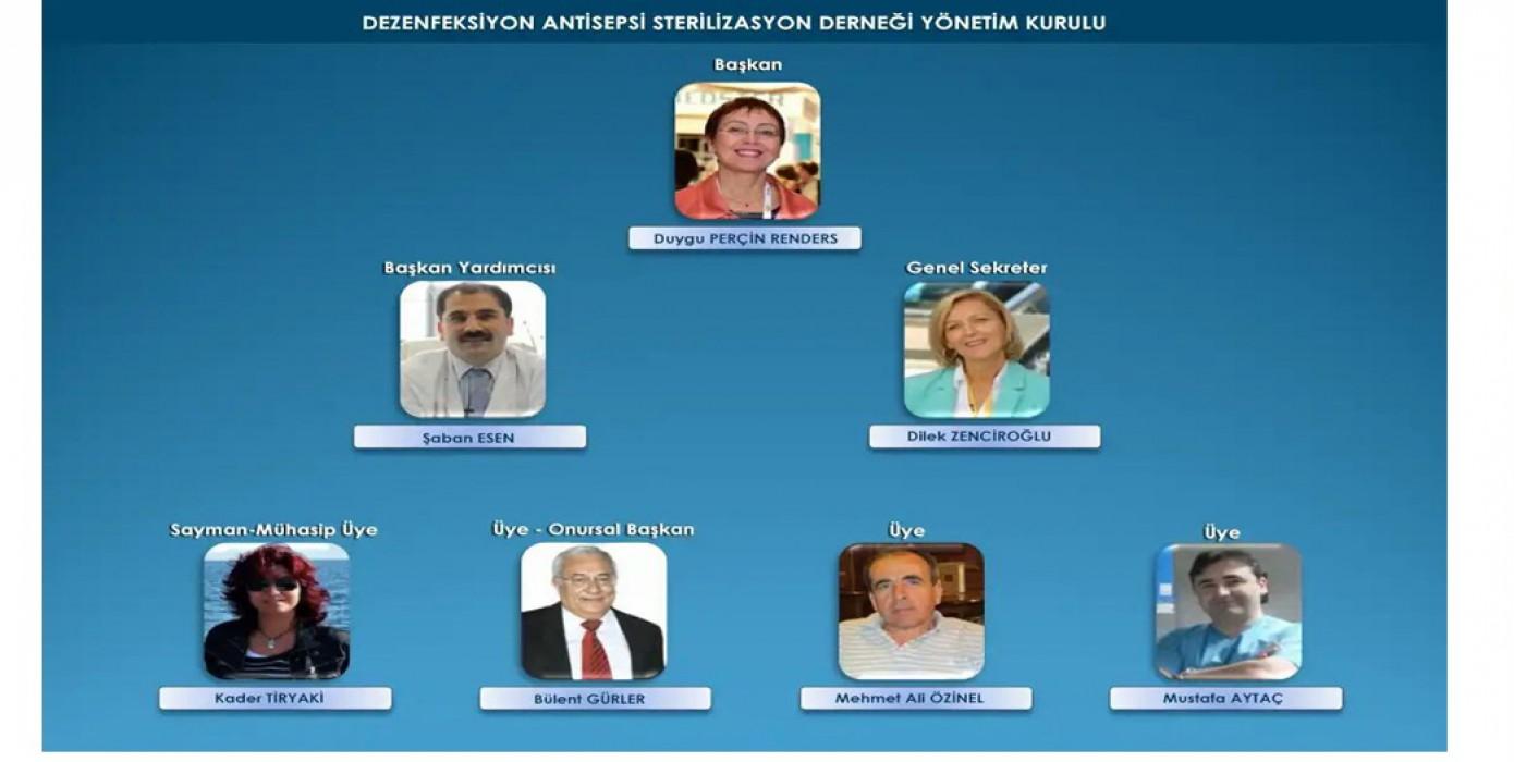 Dezenfeksiyon Antisepsi Sterilizasyon Derneği Kurul Başkanlığı