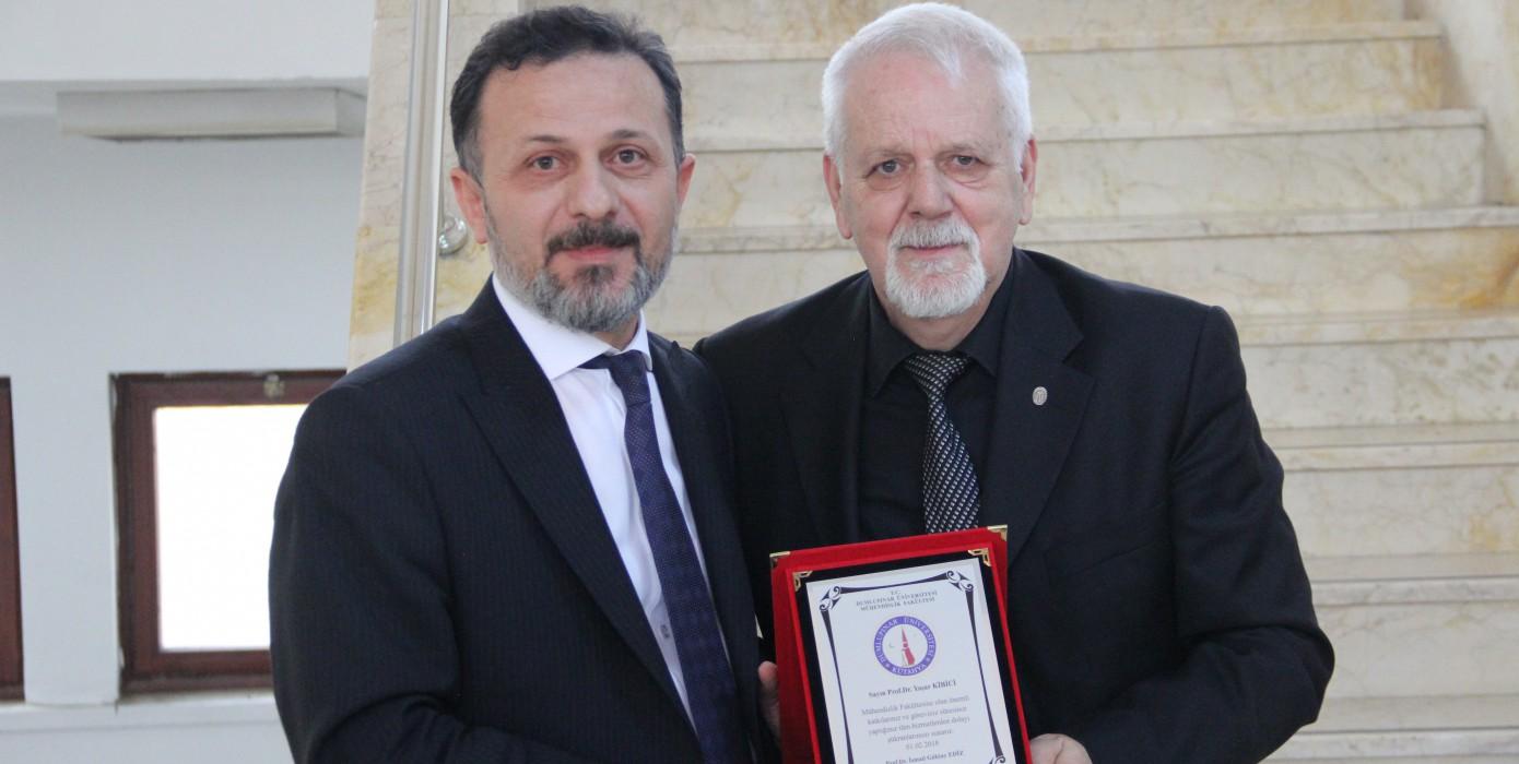 Sayın Prof. Dr. Yaşar Kibici İçin Düzenlenen Emeklilik Töreni
