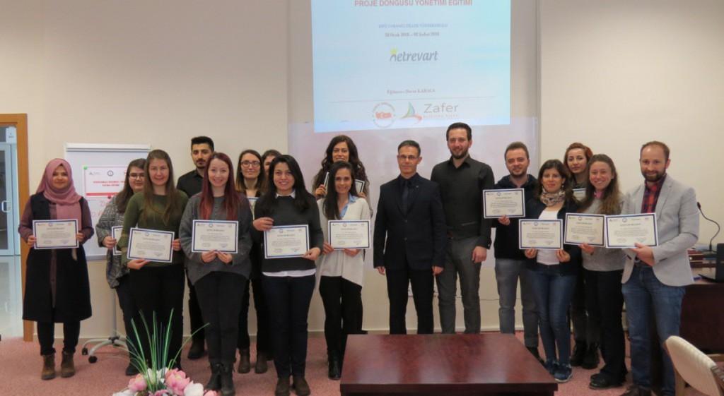 Yabancı Dil Okutmanlarına Uygulamalı Erasmus+ Proje Yazma Eğitimi Verildi