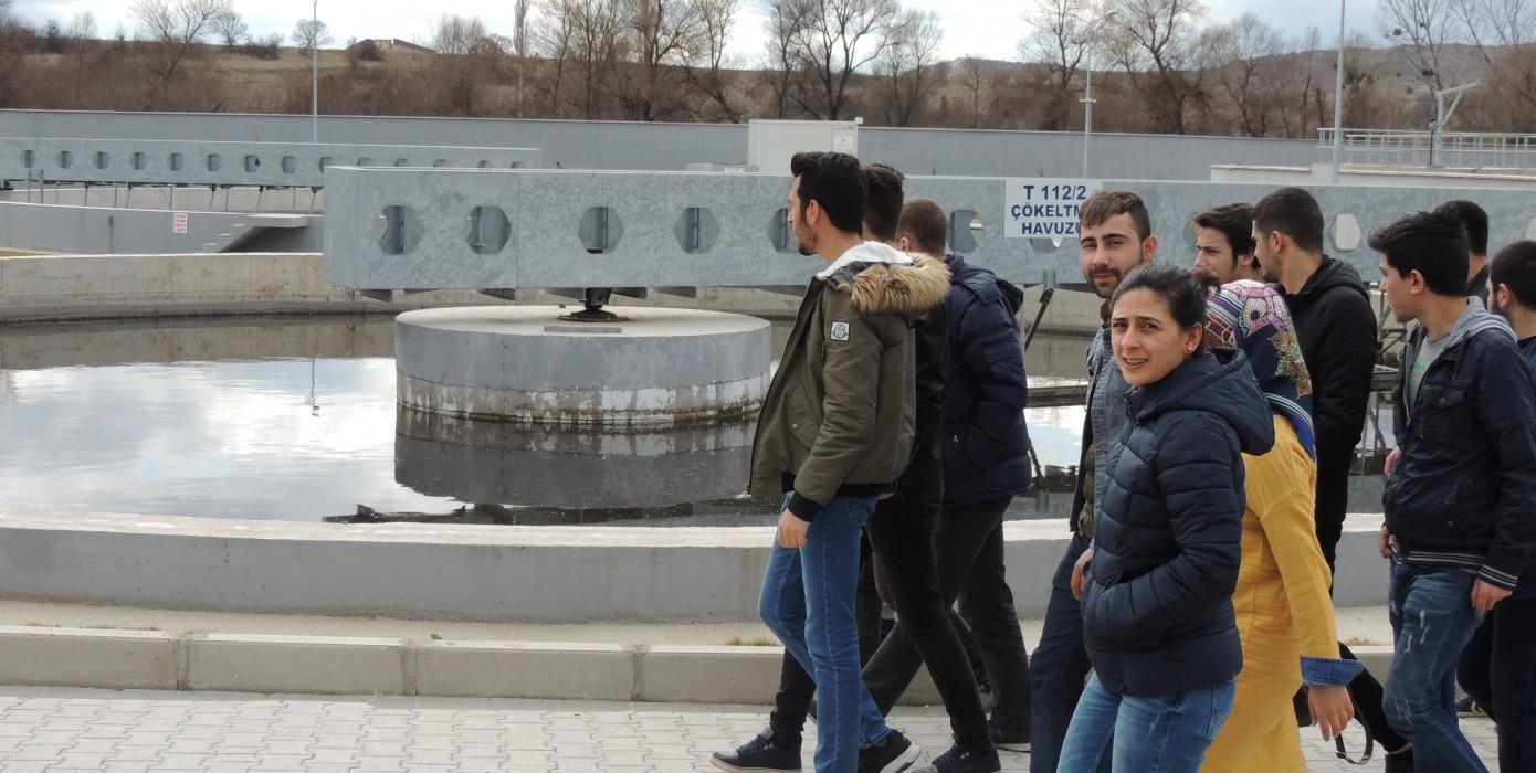 Tavşanlı Belediyesinin Katı Atık ve Su Arıtma Tesisine Teknik Gezi Düzenledi