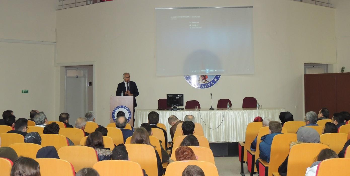 Tavşanlı Belediye Başkanı Mustafa Güler ile Öğrenci ve Personelimizin Buluşması