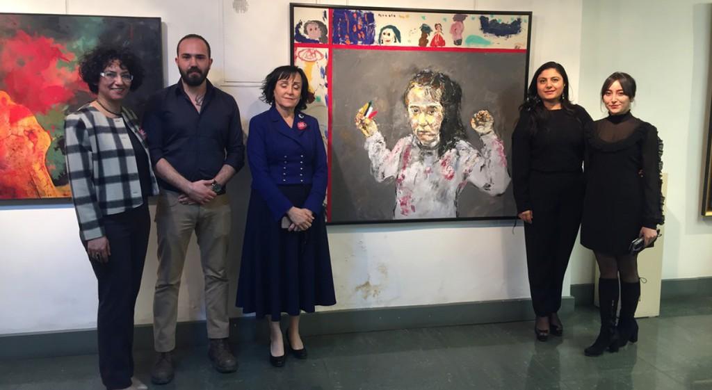 Duyulmayan Çığlık Hocalı Uluslararası Resim ve Heykel Yarışması Ödül Töreni ve Sergisi'nde Üniversitemiz Güzel Sanatlar Fakültesi eserleriyle sesini duyurdu