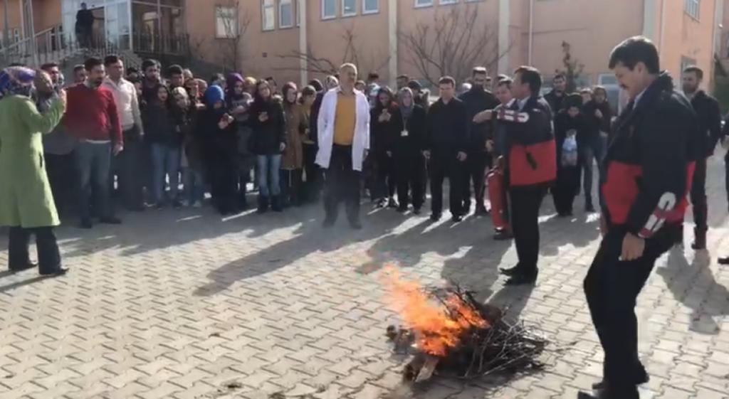 Emet Meslek Yüksekokulumuzda Yangın Tatbikatı Yapıldı