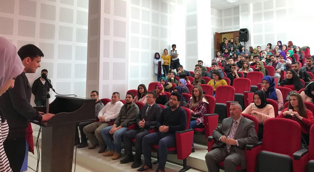 İstiklal Marşının Kabul Edilişinin 97. Yılı ve Milli Şairimiz Mehmet Akif Ersoy'u Anma Programı Gerçekleştirildi