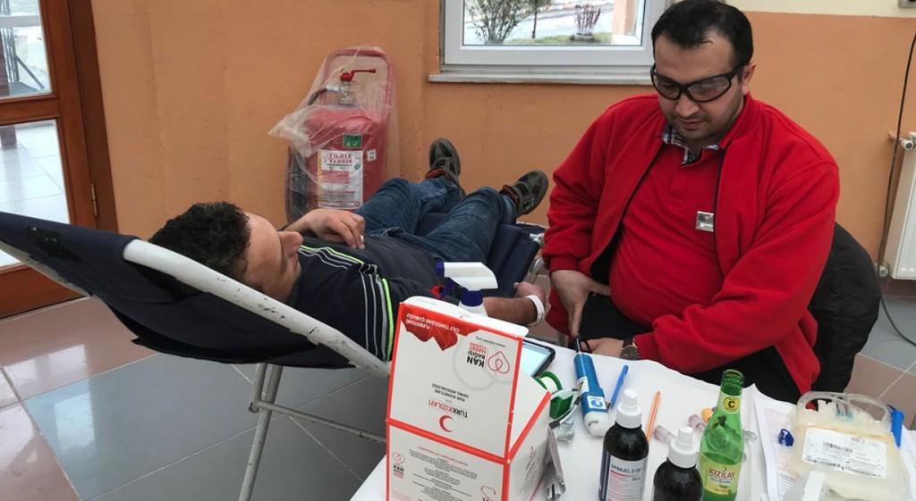 Emet Meslek Yüksekokulunda Kan Bağışı Etkinliği Düzenlendi