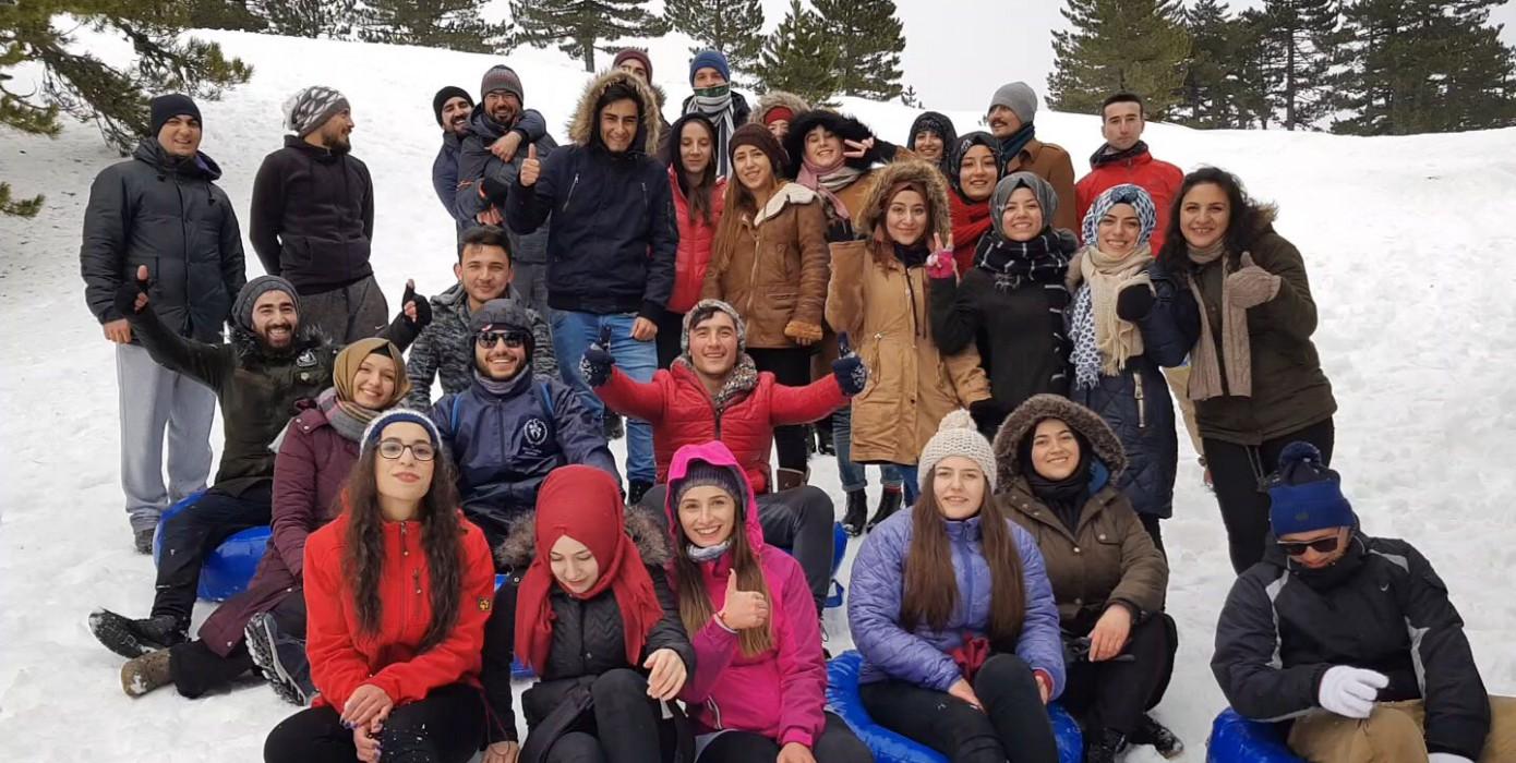 Altıntaş Meslek Yüksekokulu Öğrencileri Murat Dağında Kamp Yaptı