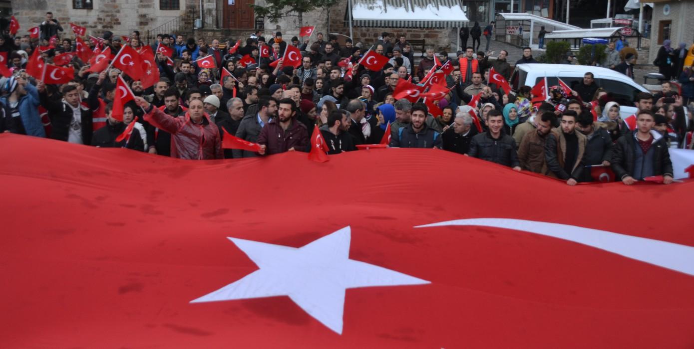 Simav Meslek Yüksekokulu Çanakkale Şehitlerini Unutmadı
