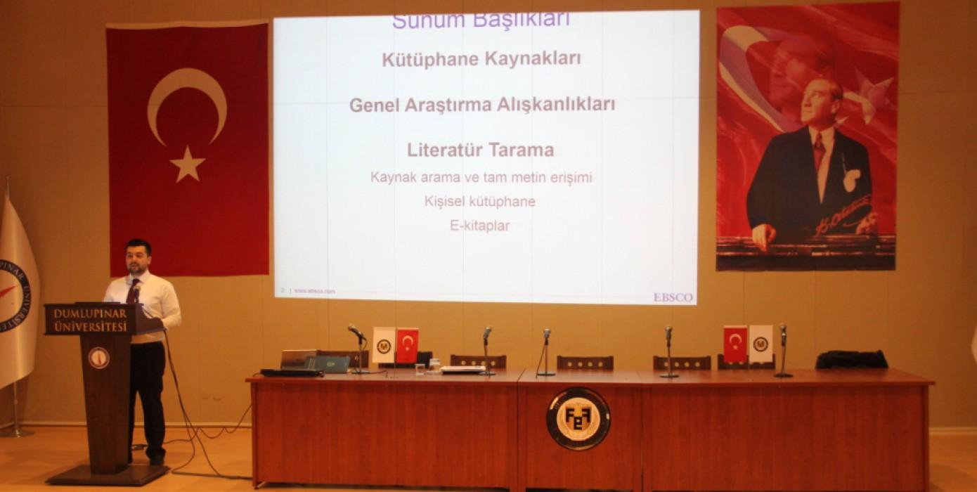 Rosetta Stone ve Literatür Teknikleri Semineri