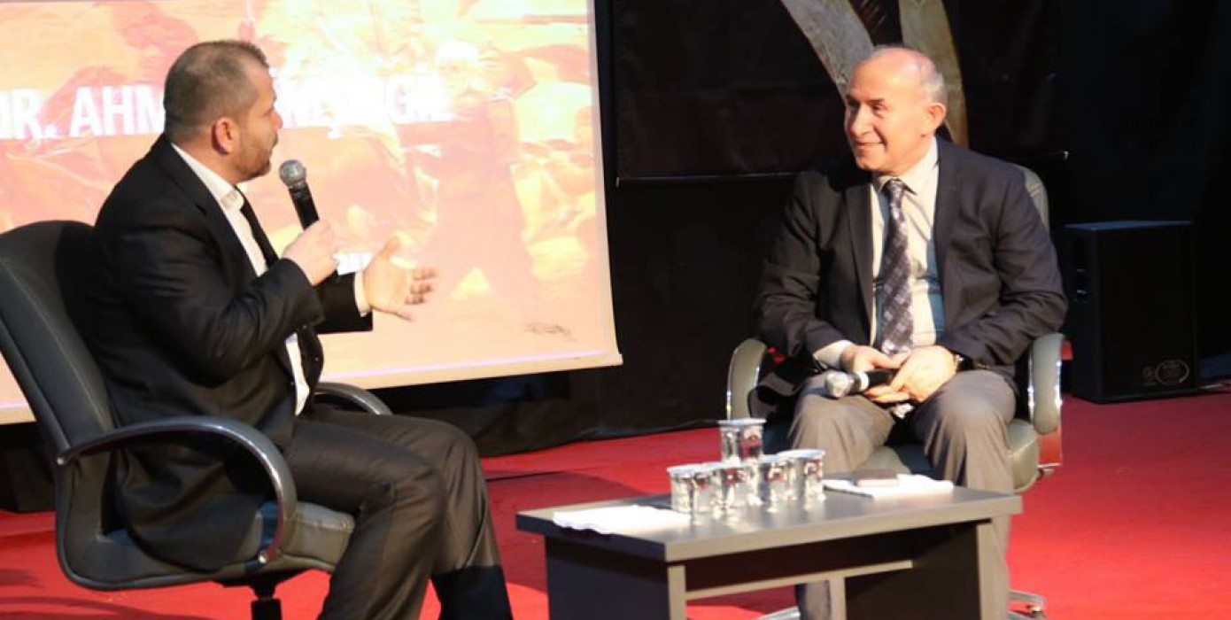 Tarihçi Yazar Prof. Dr. Ahmet Şimşirgil'in Katılımyla 18 Mart Çanakkale Zaferi'nin 103. Yıldönümü Konferansı Gerçekleştirildi
