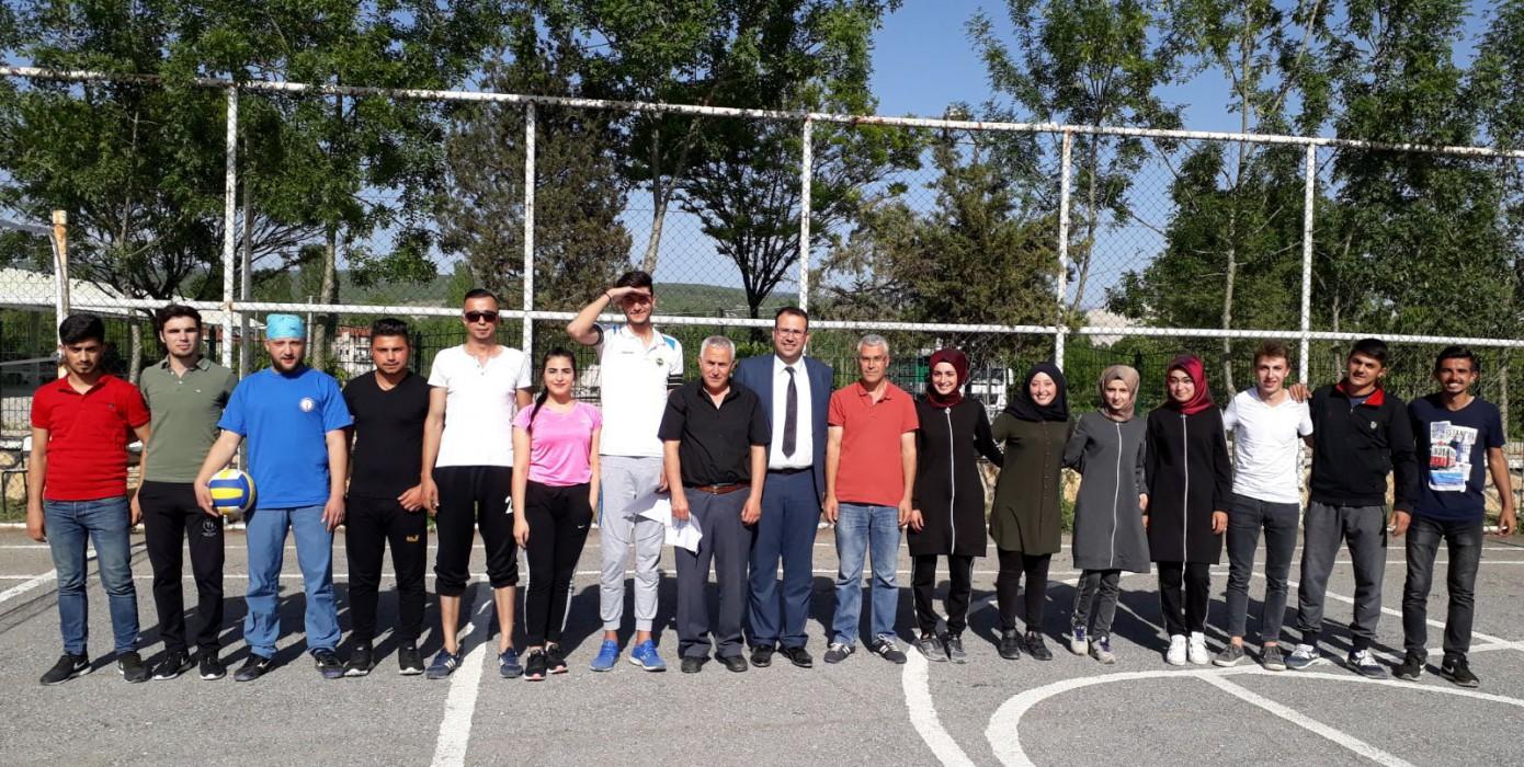 Meslek Yüksekokulumuz Voleybol Turnuvaları Başladı