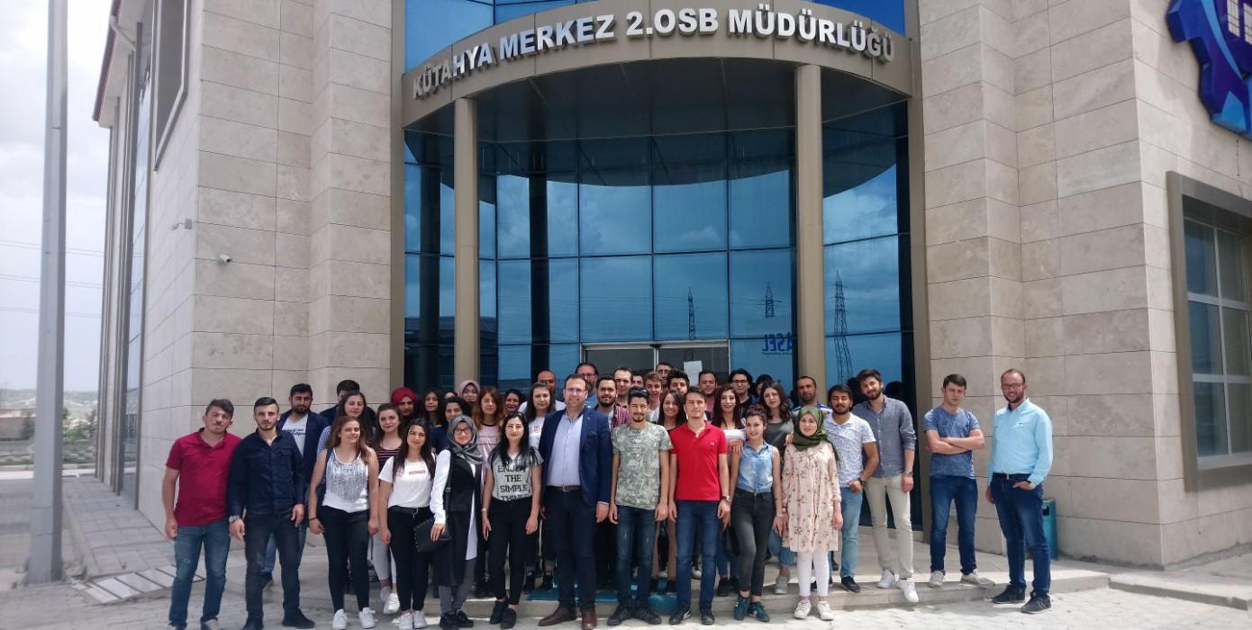 Meslek Yüksekokulumuz Öğrencilerinden Kütahya 2. Osb' Ye Teknik Gezi