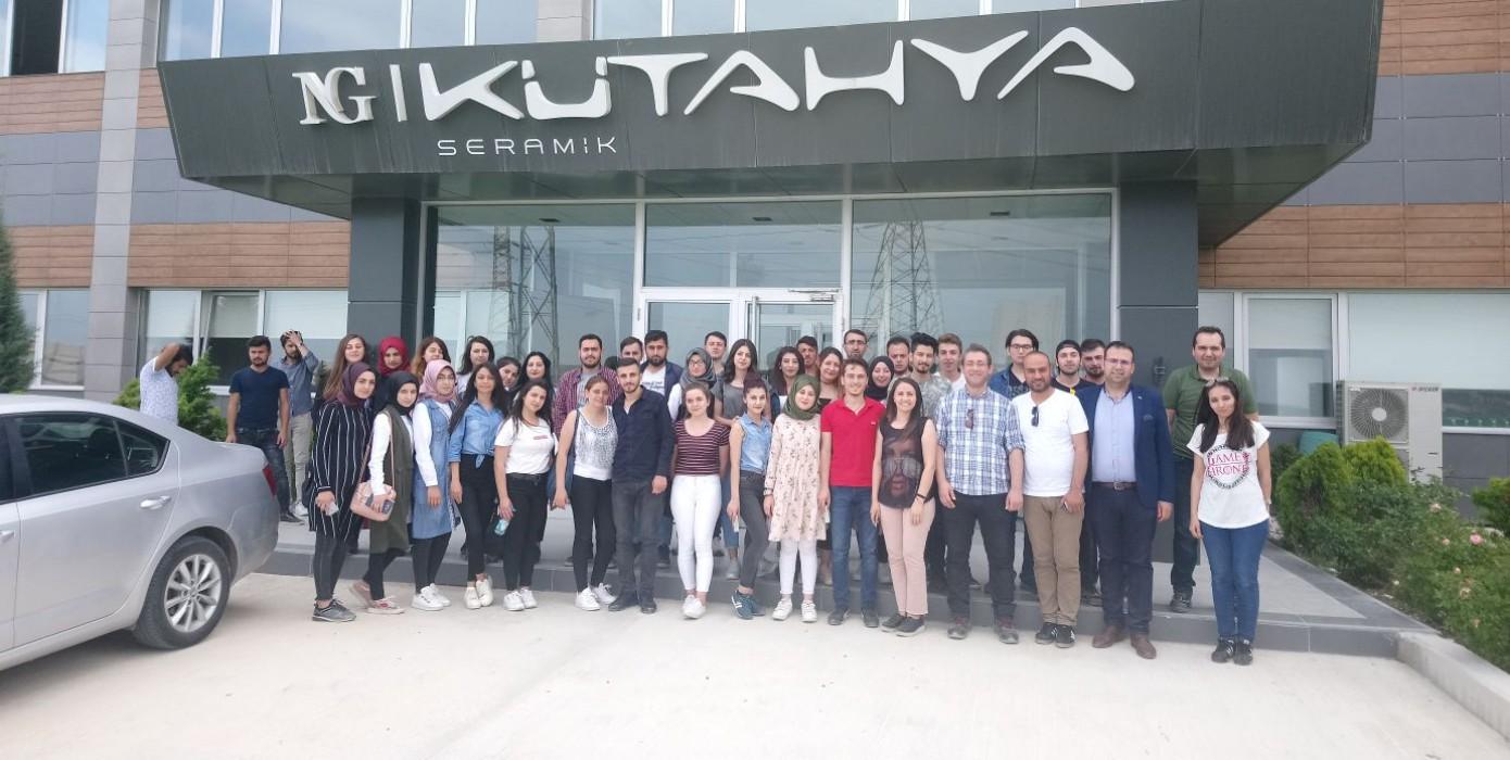Meslek Yüksekokulumuz Öğrencilerinden Ng Kütahya Seramik Teknik Gezisi