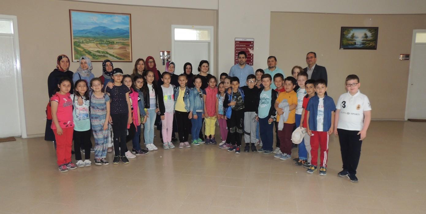 İlköğretim Öğrencileri Meslek Yüksekokulumuzu Ziyaret Etti