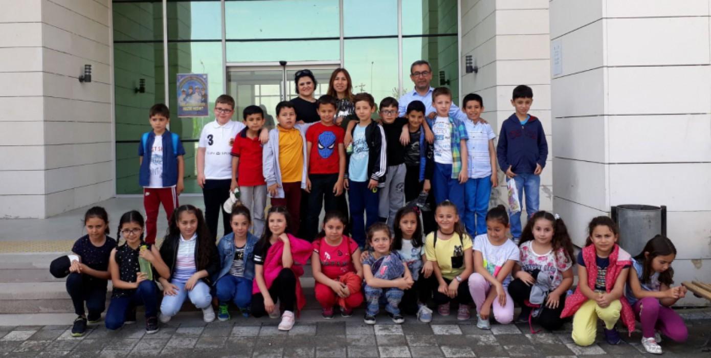 Milli Egemenlik İlköğretim Okulu Öğrencileri Yüksekokulumuzu Ziyaret Etti