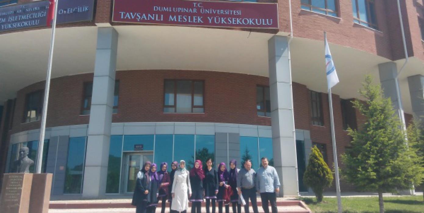 Devlet Ana Kız Anadolu İmam Hatip Lisesinin Meslek Yüksekokulumuzu Ziyareti