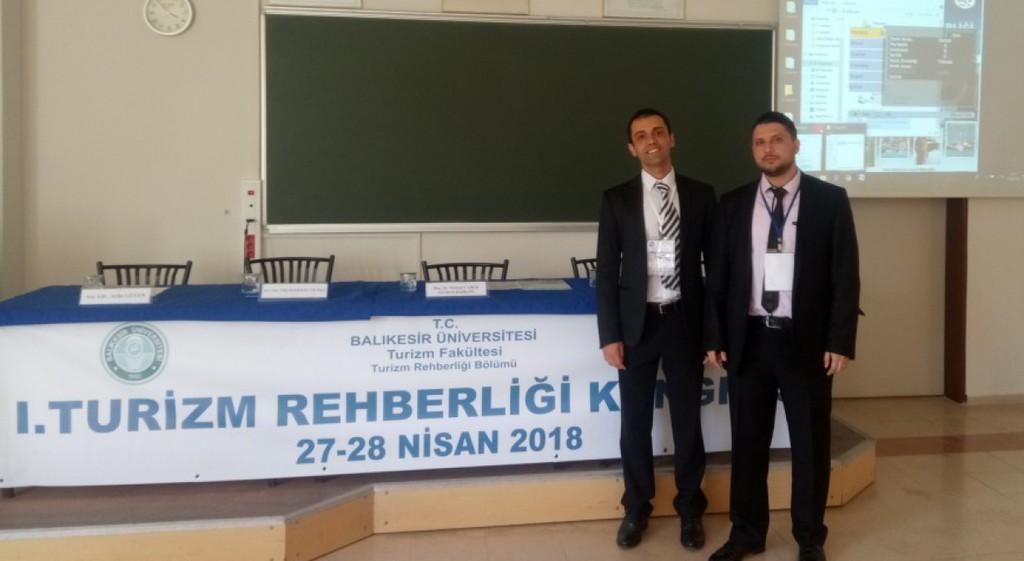 Üniversitemiz Turizm Akademisyenleri 1.Turizm Rehberliği Kongresi'ne Katıldılar
