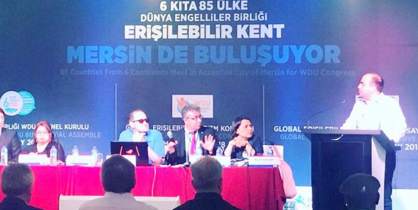 Eybis ve Eba Projelerimiz Mersin' De 85 Ülkenin Temsilcilerine Tanıtıldı