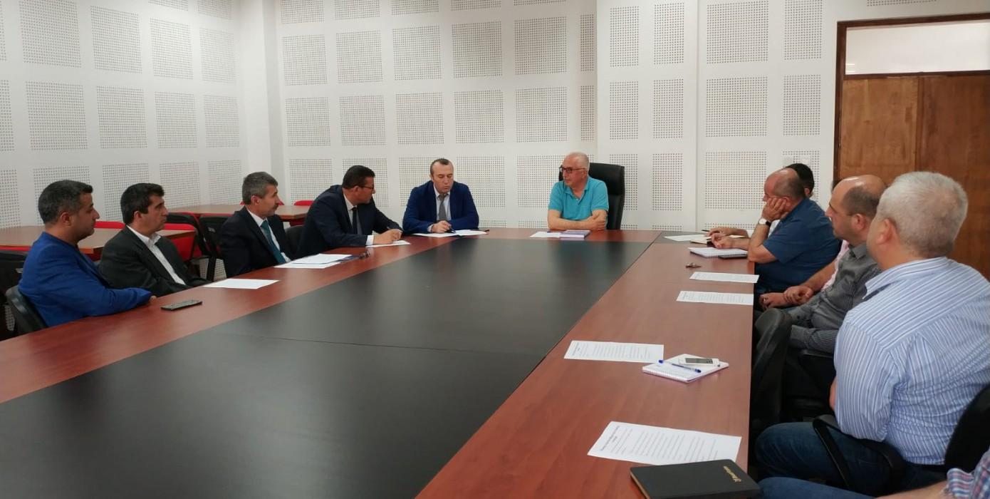 Kamu- Üniversite- Sanayi İşbirliği Toplantısı Yapıldı.