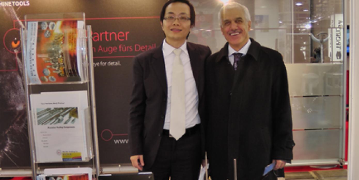 Dekanımız Prof. Dr. Muammer Gavas, Almanya'da Euromold Kalıp Fuarında.