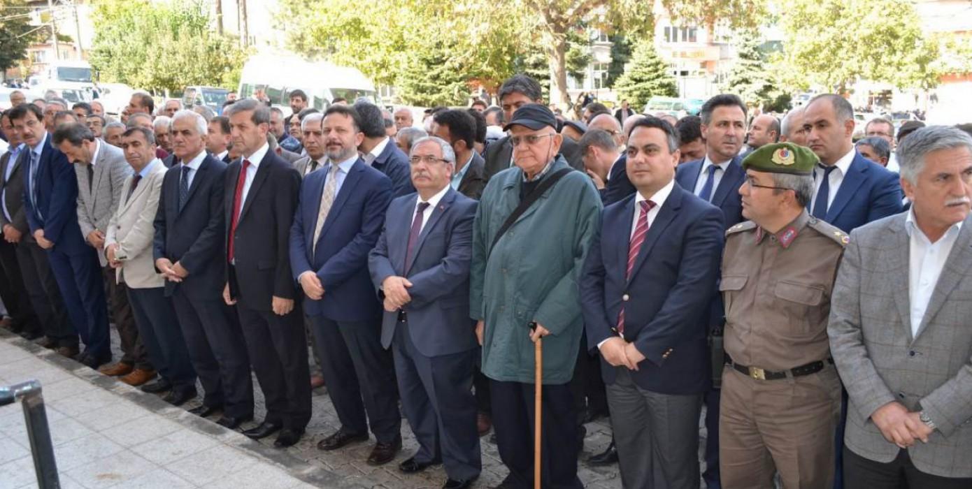Merhum Dr. İbahim Naci Eren'in Cenaze Merasimi