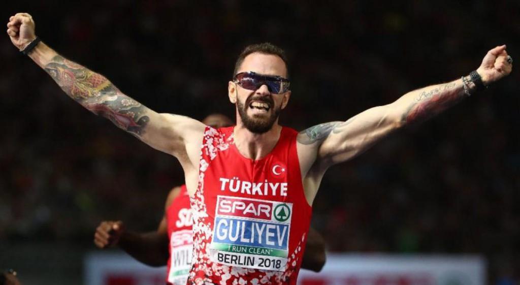 Gururumuz Ramil Guliyev Avrupa Şampiyonu