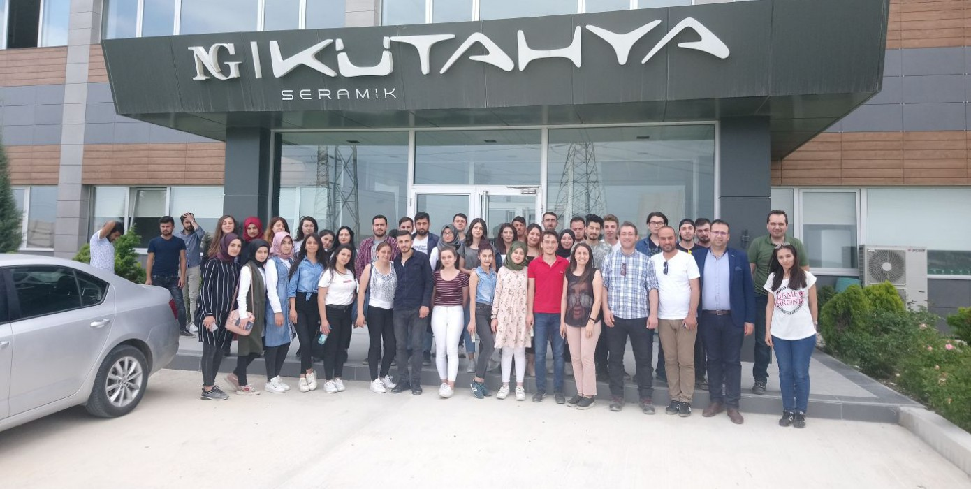 Ng Kütahya Ceramic Technical Trip From Vocational School Students