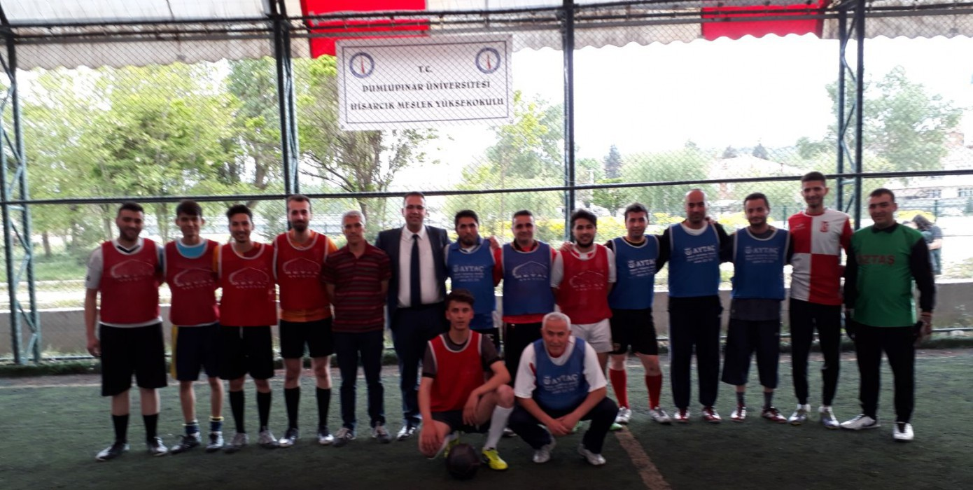 Hisarcık Vocational School 2017-2018 Football Field Carpet Soccer Tournament