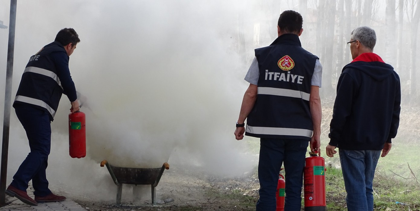 Hisarcık Vocational School Emergency Exercise