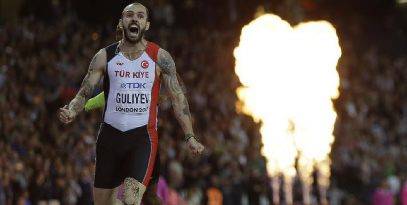 Ramil Guliyev World Champion