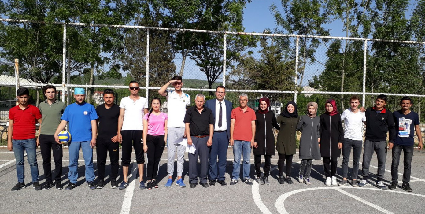 Vocational School Volleyball Tournaments Started
