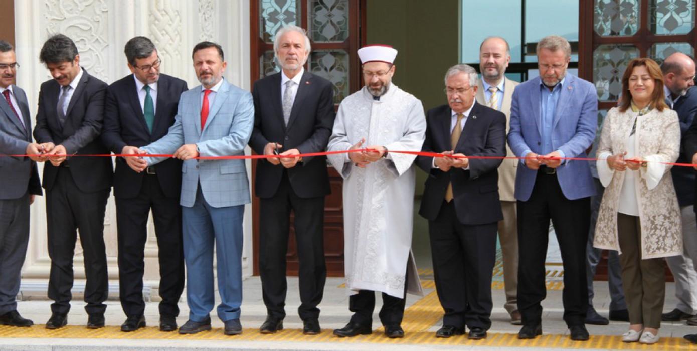 Yeni Fakülte Binamızın Açılışı Diyanet İşleri Başkanı Prof. Dr. Ali Erbaş'ın Katılımıyla Yapıldı