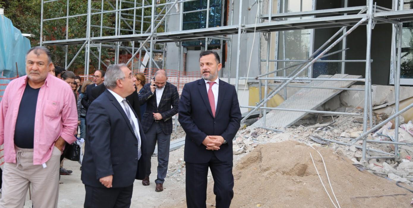 Ressam Ahmet Yakupoğlu Müze İnşaatı