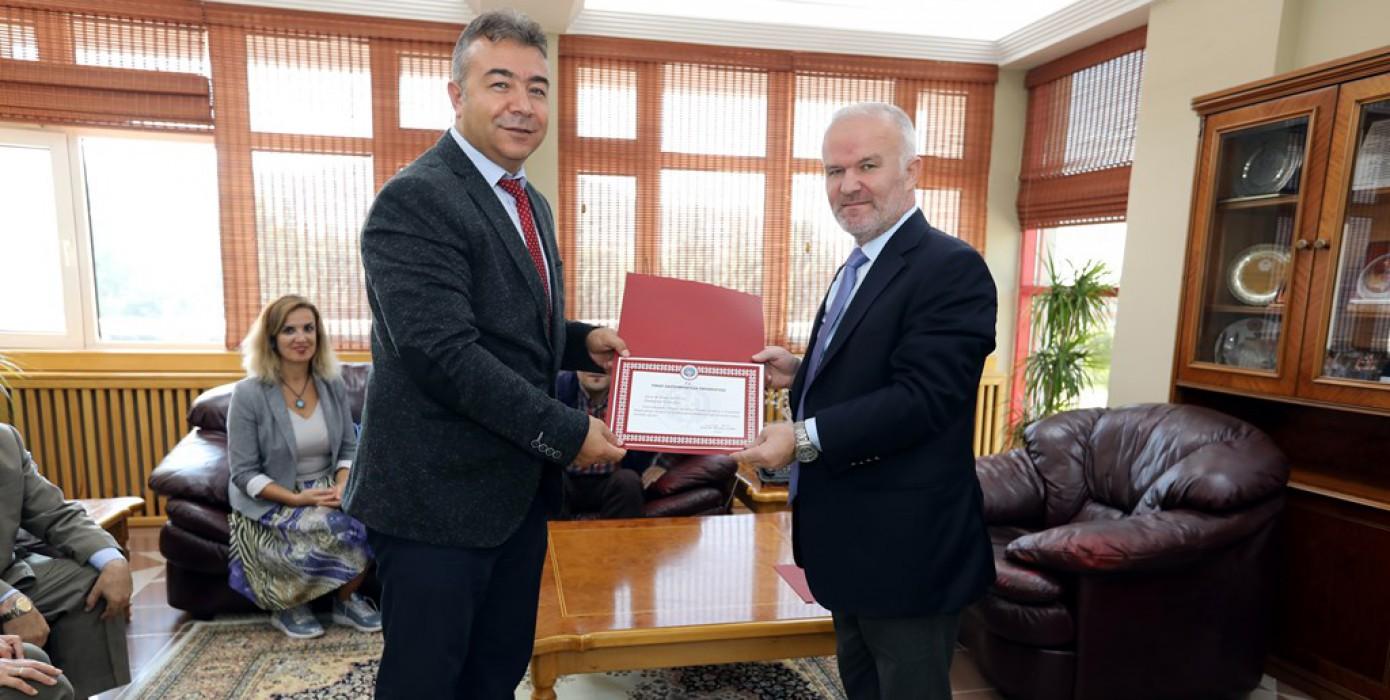 Eybis ve Eba Projeleri Tokat Gazi Osmanpaşa Üniversitesinde Hayata Geçirildi.