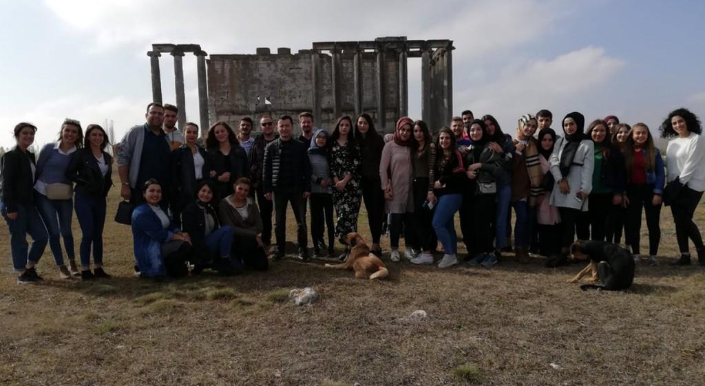 Hisarcık MYO Öğrencilerinden Aizonai Antik Kenti'ne Kültürel Gezi