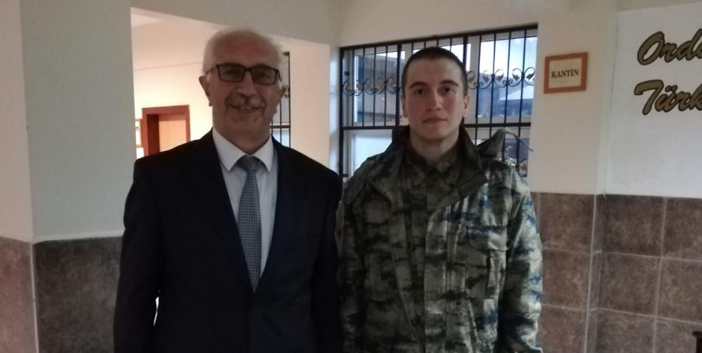 Yasin Furkan Görgülü'ye Asker Ziyareti