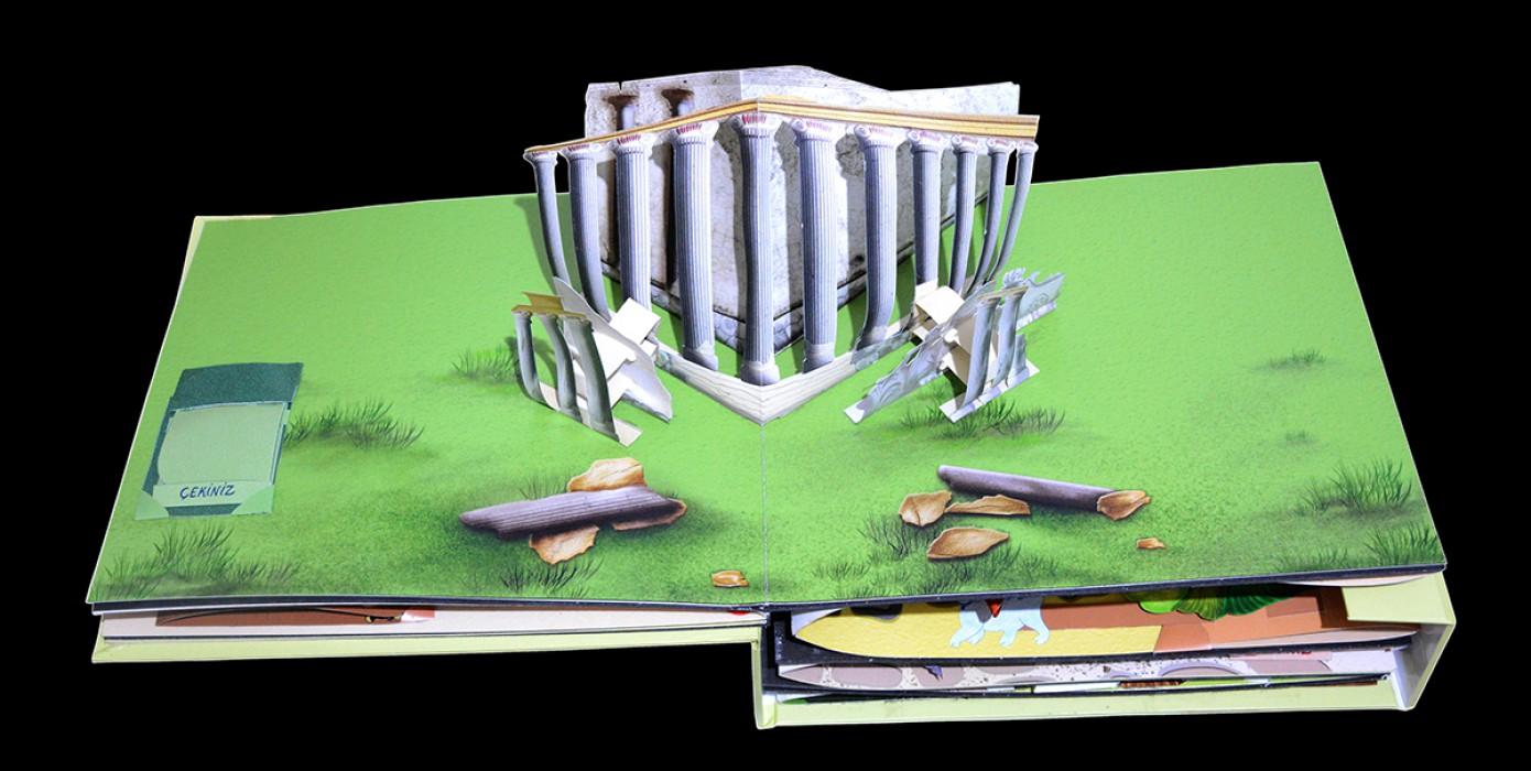 Kütahya'nın Tarihi ve Kültürel Değerleri Pop-up Kitap Olarak Tasarlandı