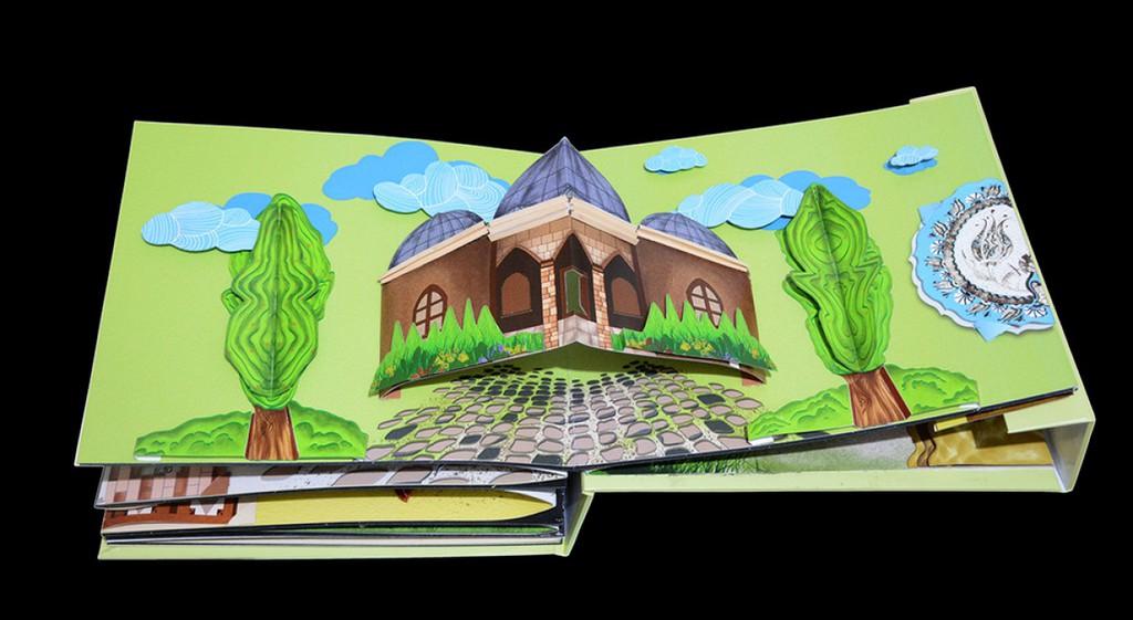 Kütahya'nın Tarihi ve Değerleri Üç Boyutlu Kitap Oldu