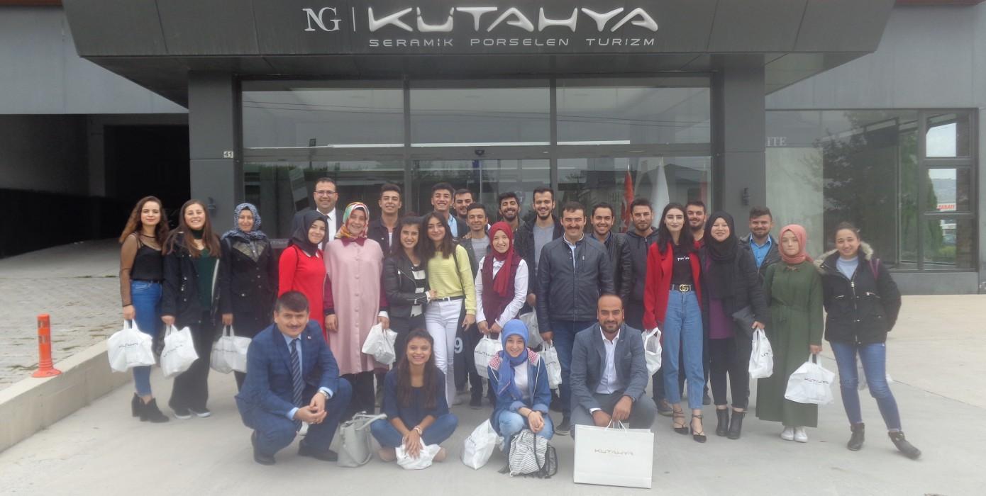 Meslek Yüksekokulumuz Öğrencilerinden Nafi Güral'a Ziyaret