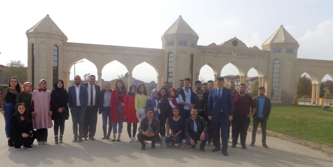 Meslek Yüksekokulumuz Öğrencilerinden Evliya Çelebi Yerleşkemize Ziyaret