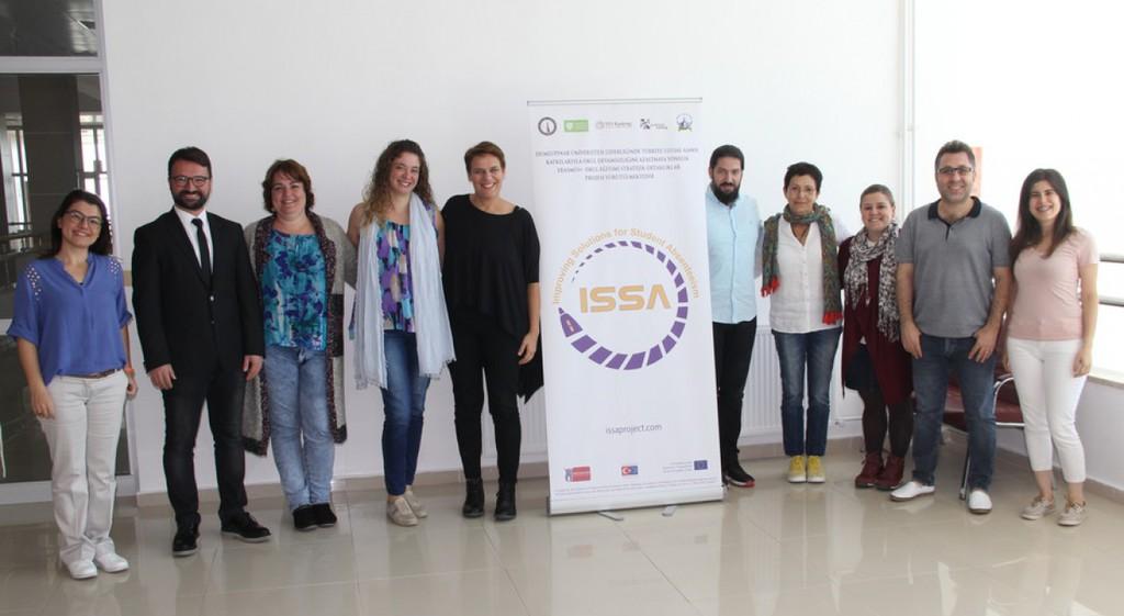 Erasmus+ ISSA Projesinin 3. Ulusötesi Toplantısı DPÜ'de Yapıldı