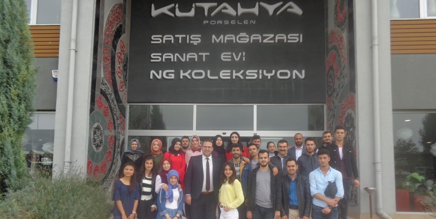 Meslek Yüksekokulumuz Öğrencilerinden Nafi Güral Sanat Evi Müze Gezisi