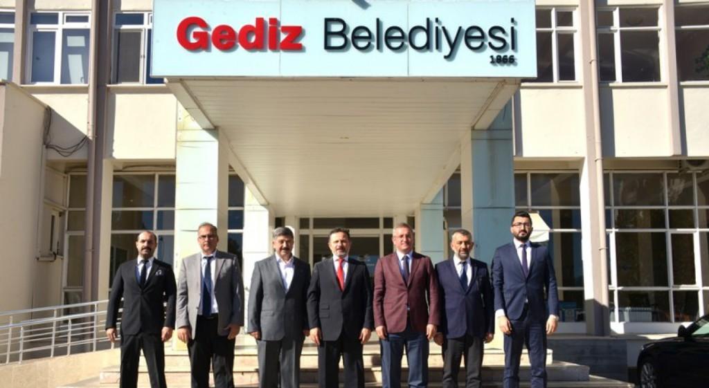 Prof. Dr. Remzi Gören'den Gediz'e Nezaket Ziyaretleri